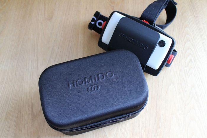 Homido – обзор шлема виртуальной реальности