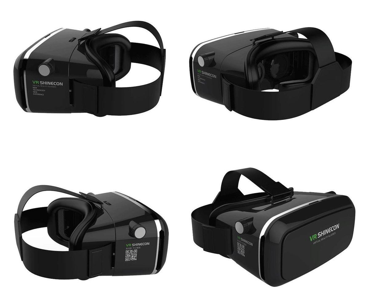 Обзор шлема виртуальной реальности VR Shinecon