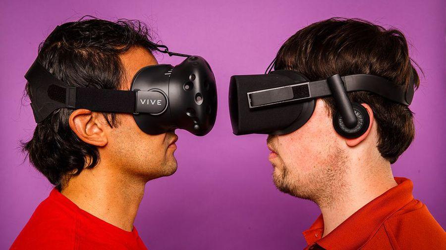 Oculus rift и HTC vive: сравнение шлемов виртуальной реальности