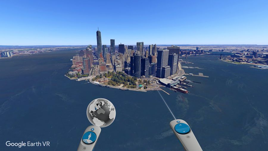 Google Earth VR: посетите весь мир, сидя на уютном диване