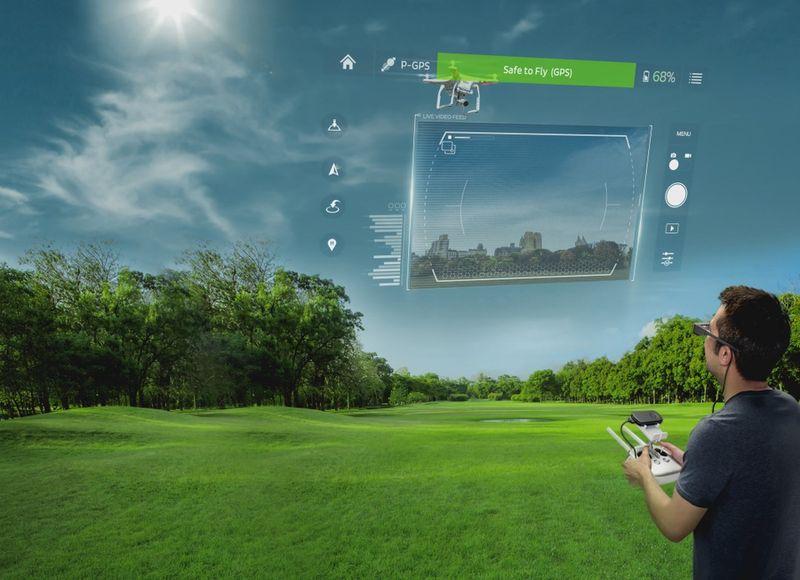 Очки дополнительной реальности Epson Moverio BT-300: измени этот мир одним нажатием кнопки