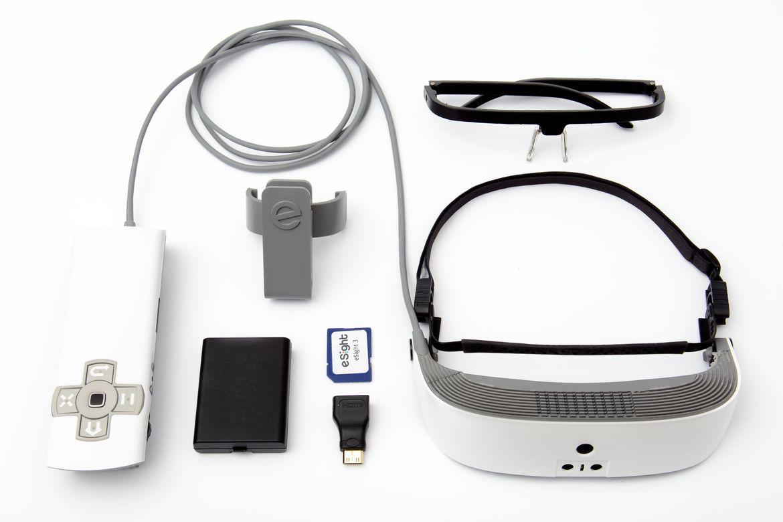 eSight 3: AR-очки для людей с плохим зрением