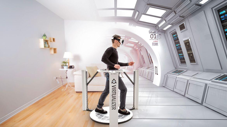 Cyberith Virtualizer: недешевая платформа дополненной реальности
