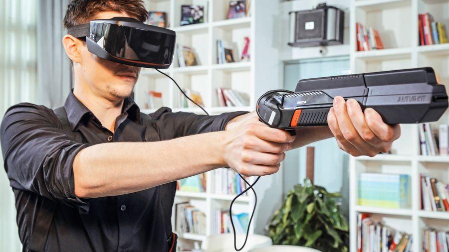 AntVR KIT: самый необычный набор для виртуальной реальности
