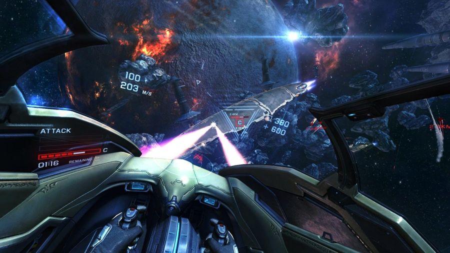 Обзор игры EVE Valkyrie VR: необъятный космос в вашей гостиной