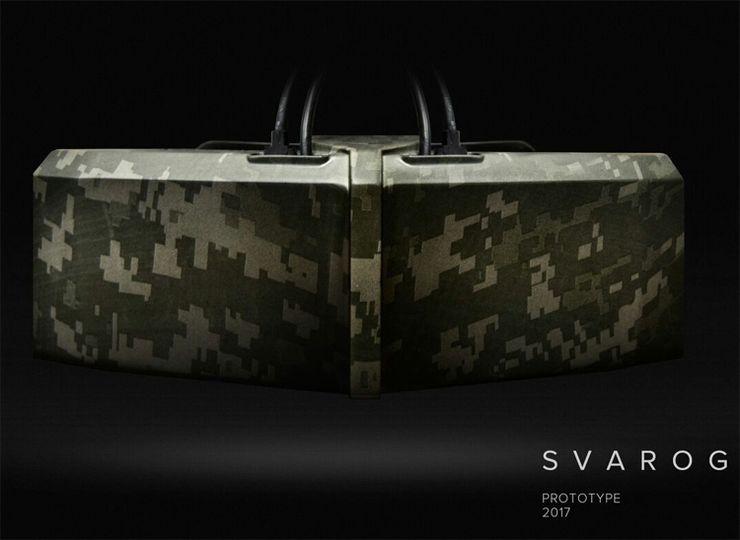 Российский разработчик DEUS презентовал шлемы Odin DK2 и Svarog