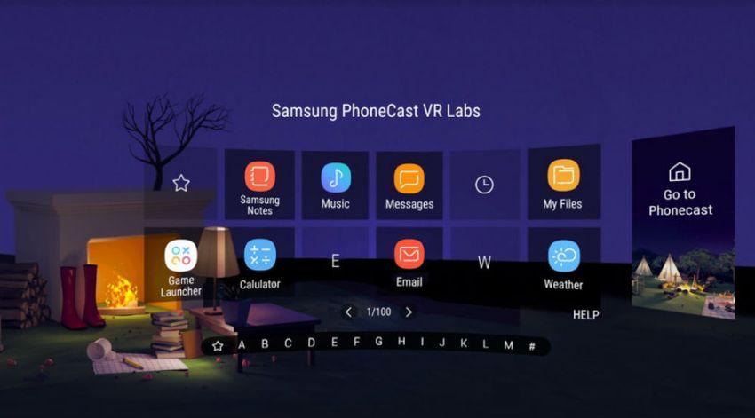 PhoneCast: запускайте 2D приложения в виртуальной реальности