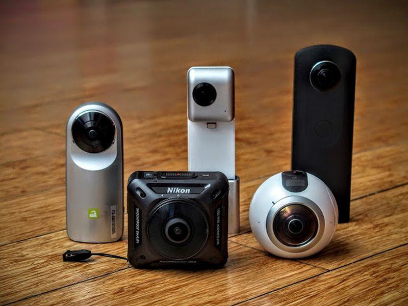 камера с захватом съемки 360 градусов