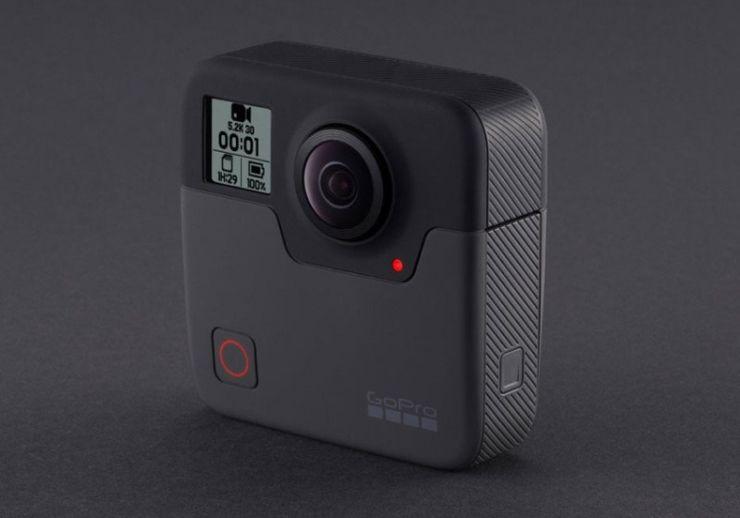 GoPro Fusion - новая VR-камера с разрешением 5,2K