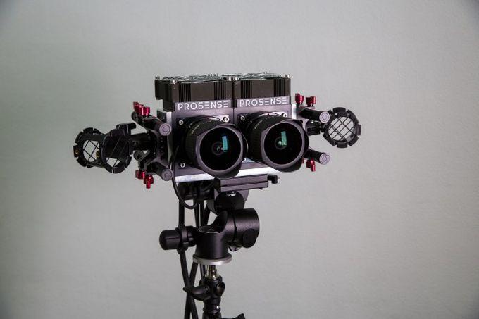 Новая VR камера из России - Prosense 180 VR 4K60fps
