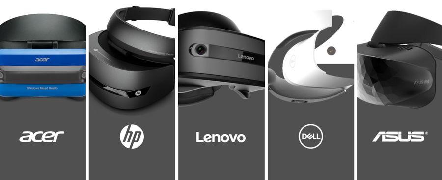 VR очки на основе Windows Mixed Reality захватывают рынок