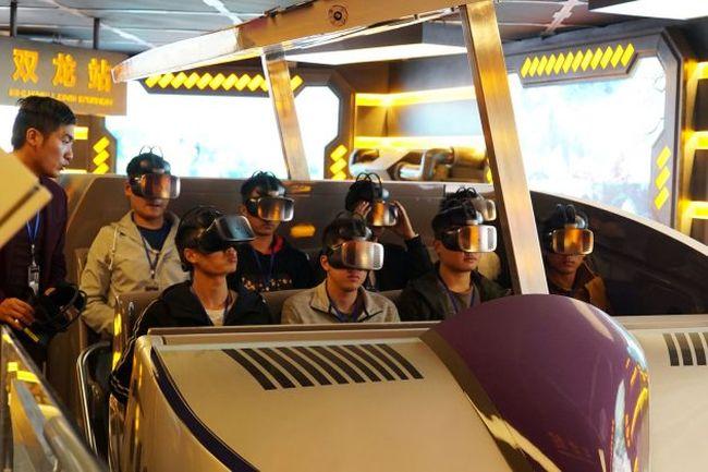В Китае заканчивается строительство парка виртуальной реальности (фото)