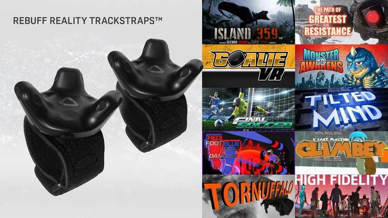 HTC выпускает Vive Tracker и 3 комплекта с ним