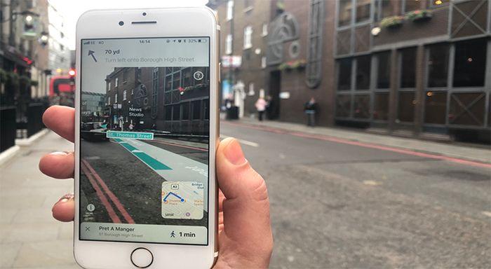AR City - навигатор дополненной реальности