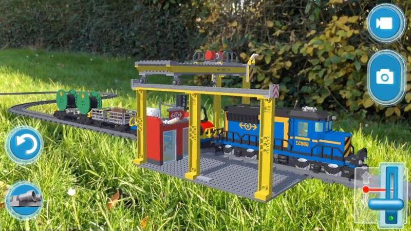 LEGO AR-Studio - набор игр дополненной реальности от LEGO