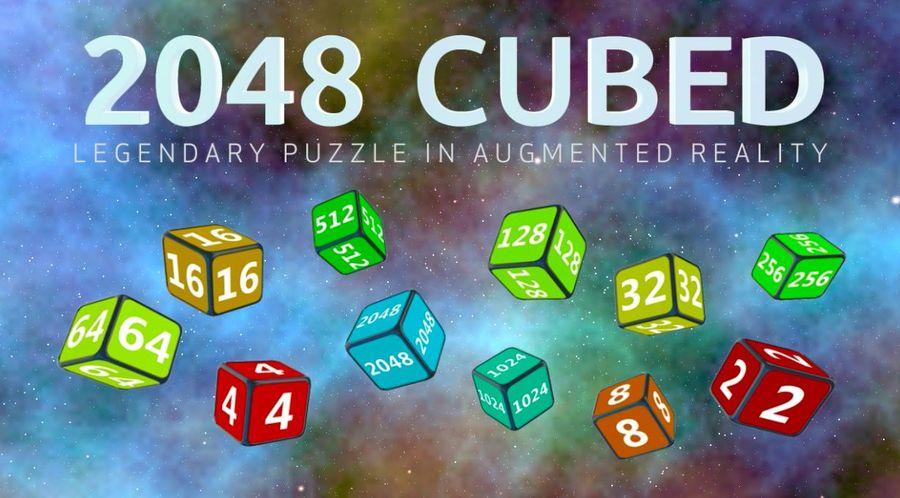 2048 CUBED - игра 2048 в виртуальной реальности!