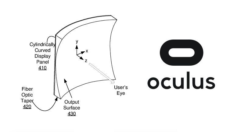 Oculus запатентовала изогнутый дисплей для VR-очков