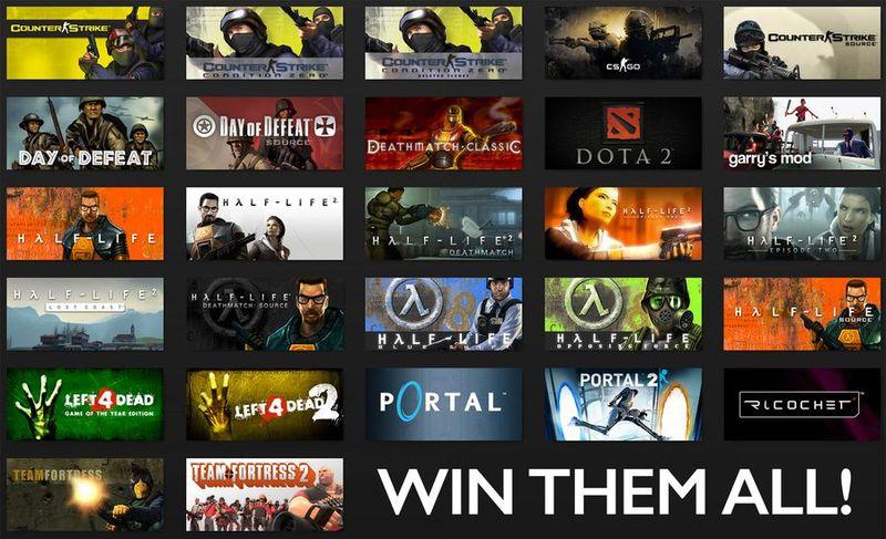 Valve готовит у выпуску сразу 3 крупных VR игры