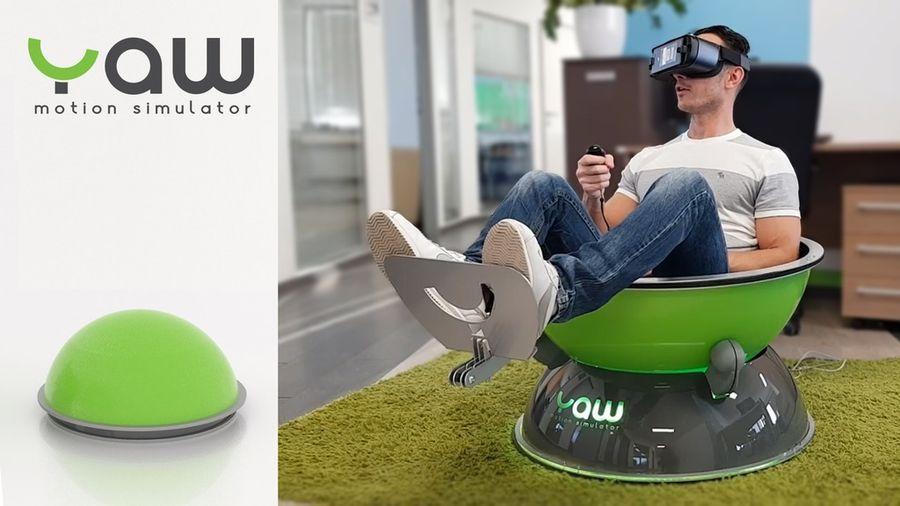 Yaw VR: симулятор движений для виртуальной реальности