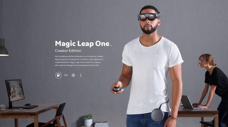 Magic Leap One появится весной и будет стоить более 1000 долларов