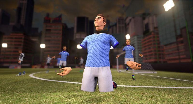 Игра VRFC - футбол в виртуальной реальности
