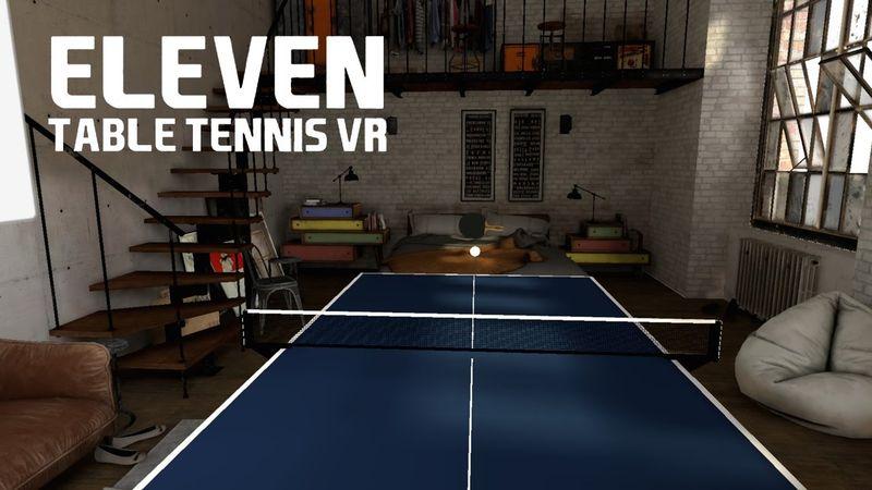 Eleven: Table Tennis - лучший симулятор настольного тенниса в VR