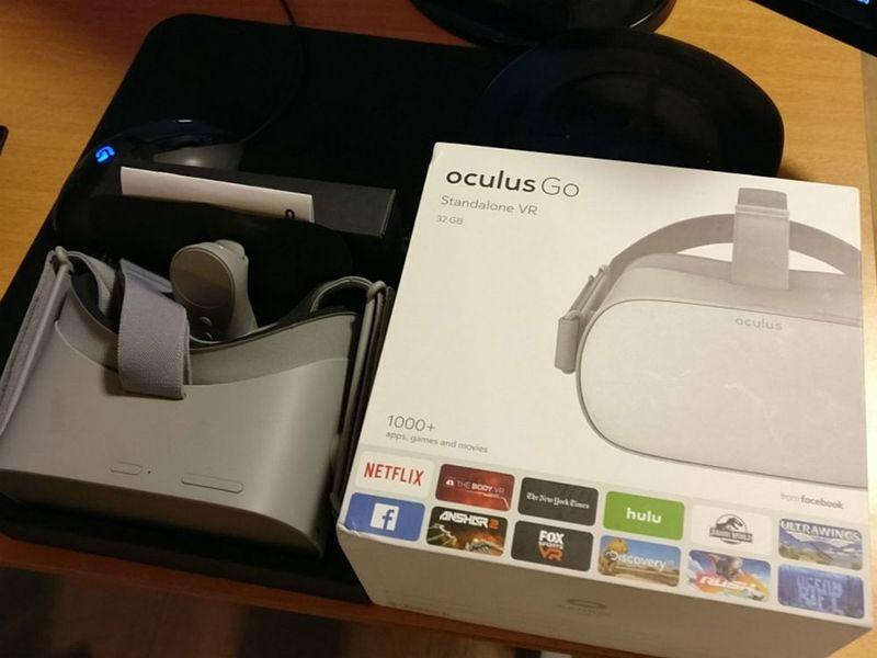 Oculus GO на старте будет поддерживать более 1000 приложений и игр!