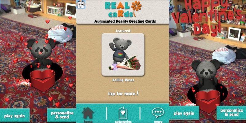 Real Cards: поздравительные открытки в AR (дополненной реальности)