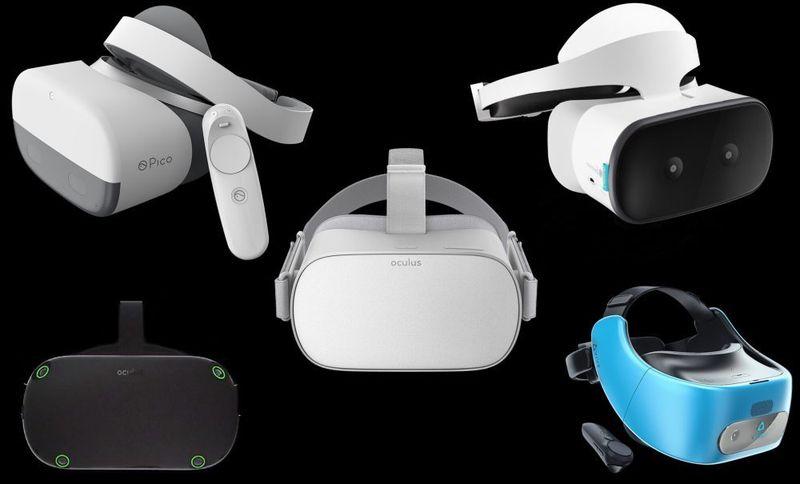 Лучшие автономные VR шлемы