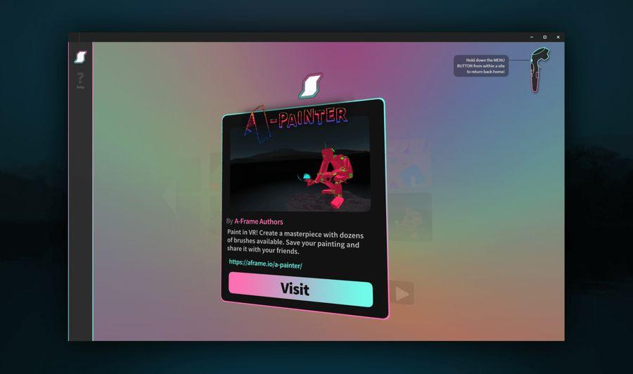 Supermedium VR - браузер для виртуальной реальности