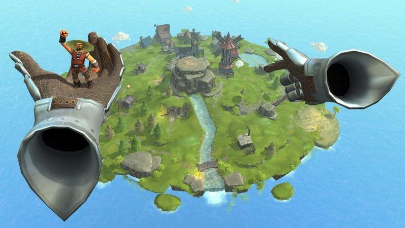 Townsmen VR: симулятор бога в виртуальной реальности