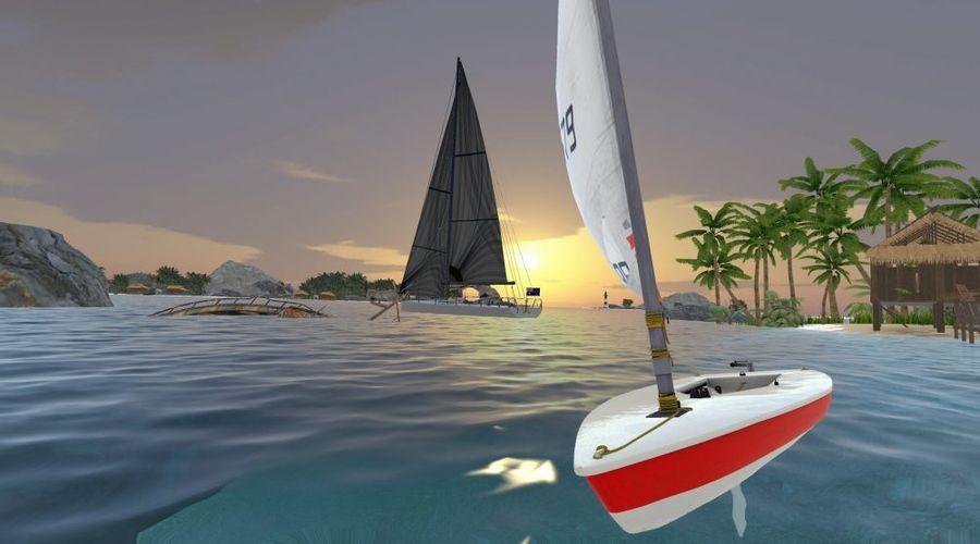 VR Regatta: красочный симулятор парусного спорта
