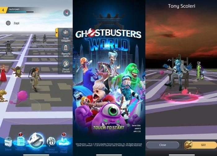 Ghostbusters World: обзор и гайд по AR-игре